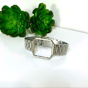 FitBit Blaze Stainless Steel Silver Watch Band NEW